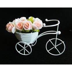 Кашпо велосипед для цветов купить
