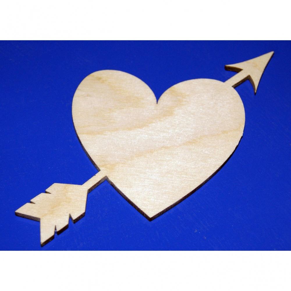 Поделки из дерева сердечки